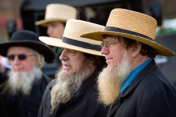 Why Amish Men Grow This Type of Beards