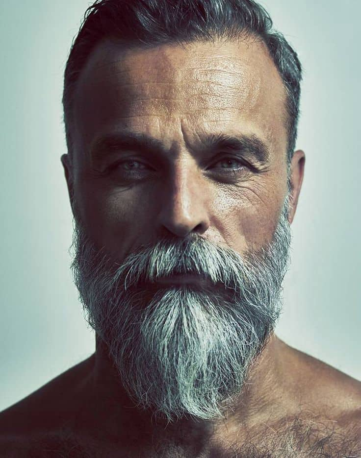 Full and Long Beard Styles: Even Flow