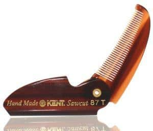 Limited Edition Kent 87T Folding Beard 6 Mustache Comb