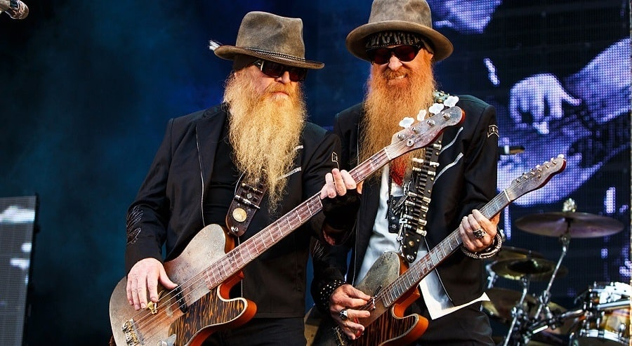 Rock 'N Roll Hall Of Fame Inductee Billy Gibbons and His Beard