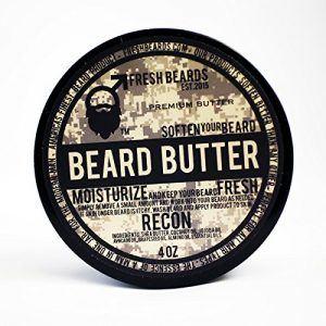 Beard butter from fresh beards