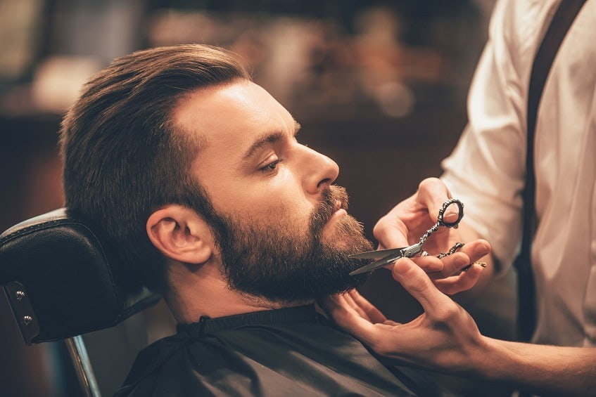 how to cut beard and mustache