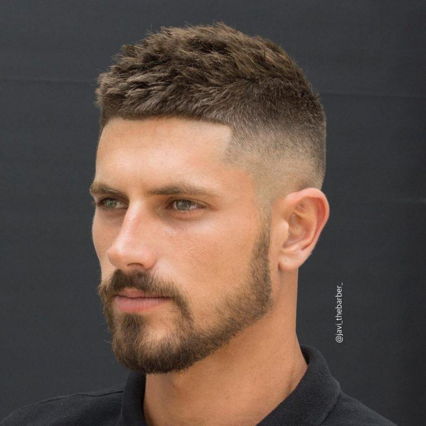 Crew Cut Fade Simple But In Depth Haircut Styling Guide Beardoholic
