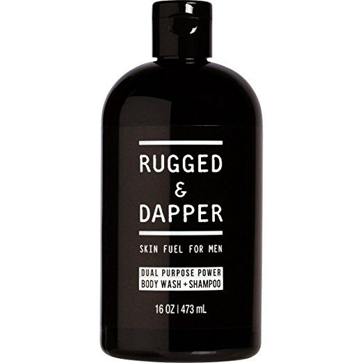 Rugged & Dapper Dual Purpose Power Body Wash + Shampoo for Men