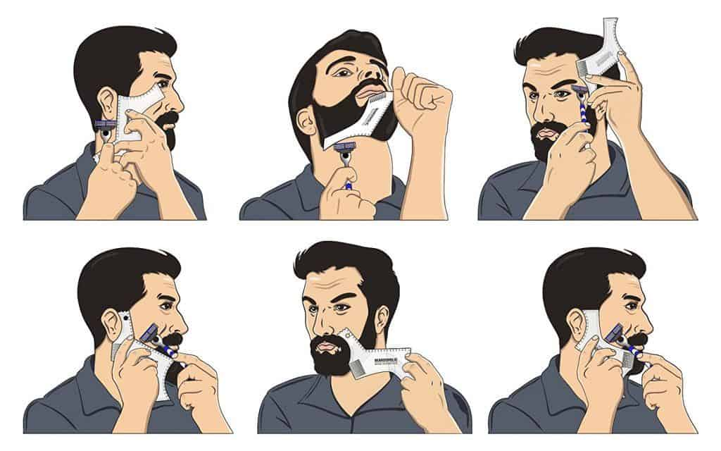 How to Shape a Beard with a Beard Shaper