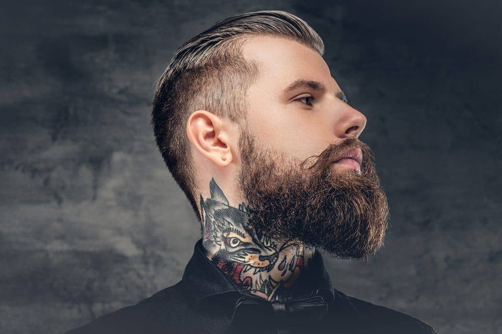 how to find your beard 39 s neckline and trim it professionally beardoholic. Black Bedroom Furniture Sets. Home Design Ideas