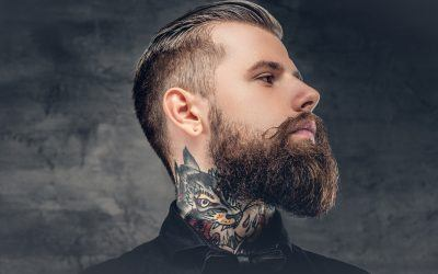 How To Find Your Beard's Neckline and Trim It Professionally
