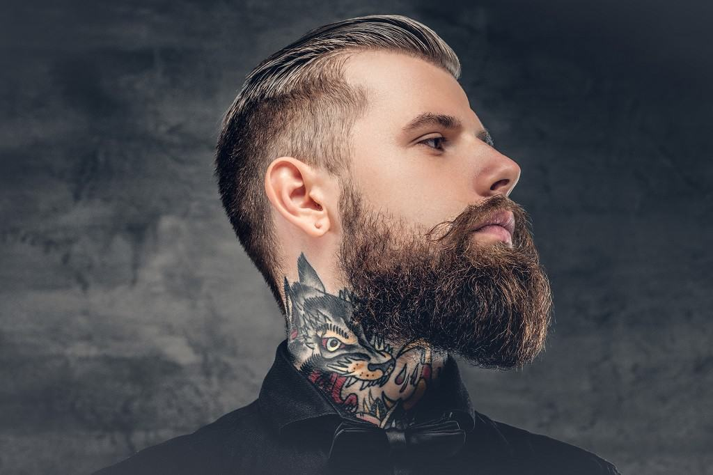 How To Find Your Beard's Neckline and Trim It ...