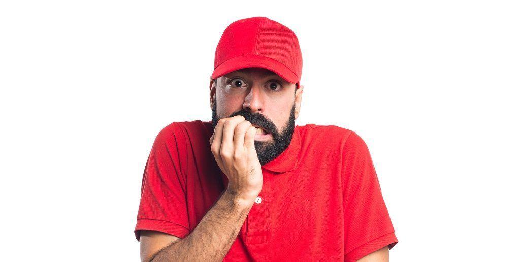 Bearded men shocked