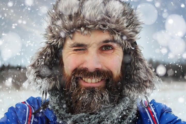 Benefits of Growing a Beard - Keeps You Warm Through Winter
