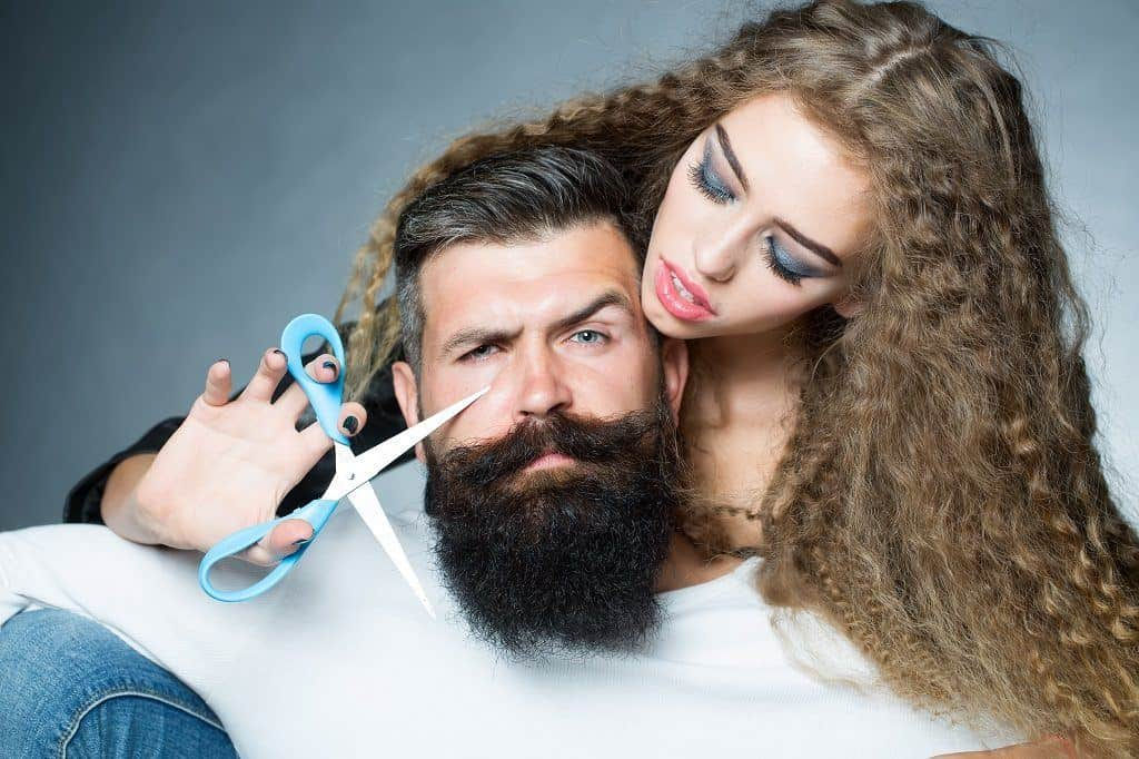 Myth #2: All girls find facial hair sexy