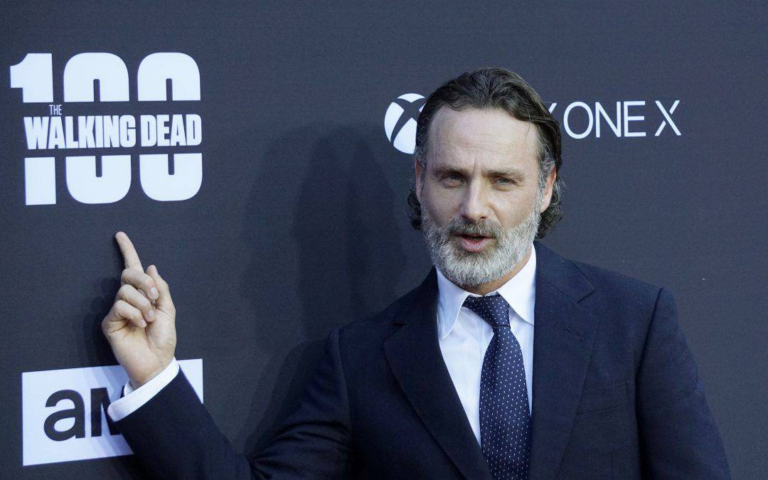 Andrew Lincoln's Beard Style – Perfect Balance Between Polished and Scruffy Beard