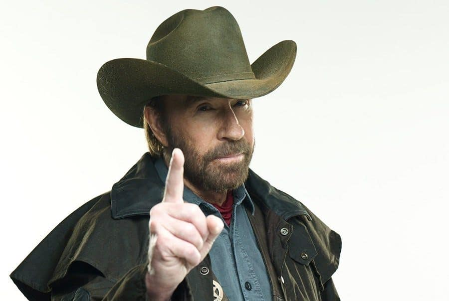 Chuck Norris's Beard Style and His Road To The Legend Status
