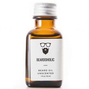 Beardoholic Premium Unscented Beard Oil