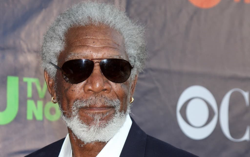Morgan Freeman and His Salt and Pepper Beard Style Will Live Forever