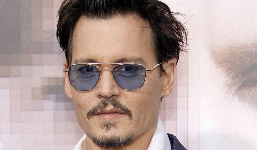 Johnny Depp and His Different Goatee Beard Styles