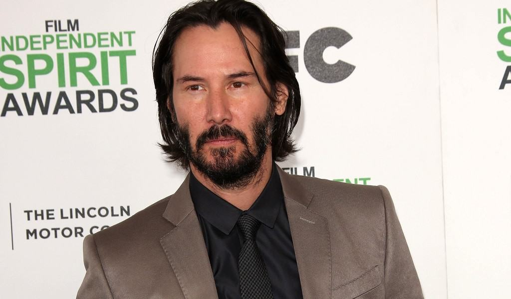 Graceful Keanu Reeves – Famous Actor with Even More Famous Patchy Beard
