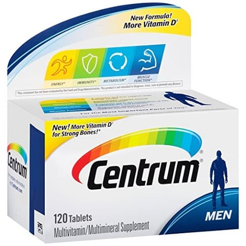 Centrum Men Multivitamin Supplement