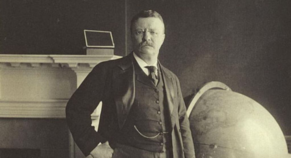 Meet US President Theodore Roosevelt and His Royal Mustache Style