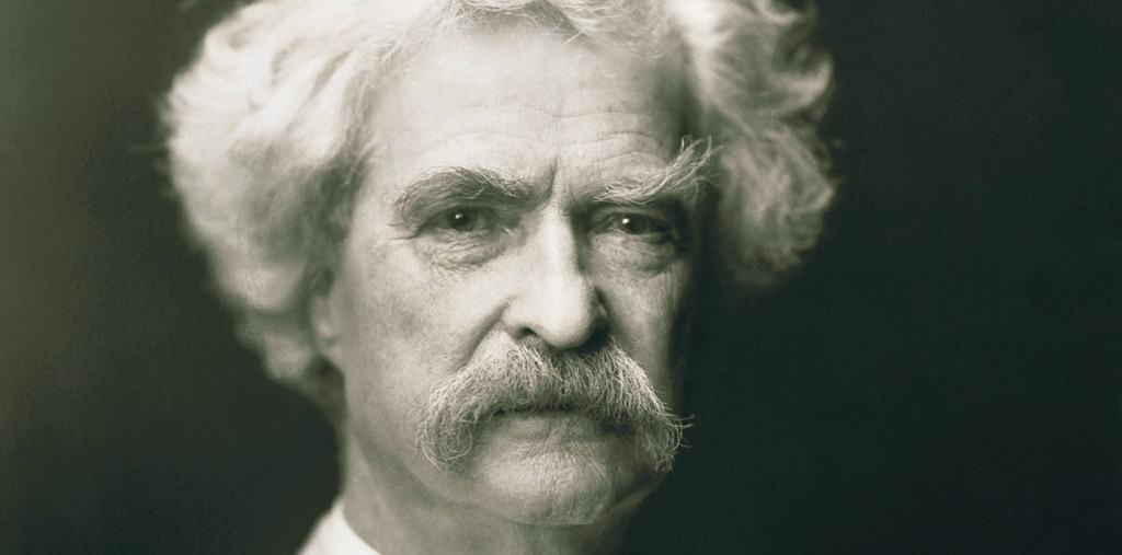 Mark Twain's Career and His Awesome Stache