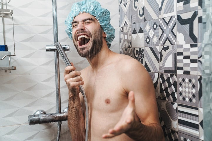 How to Get Rid off Dry Skin Under Your Beard - Take Colder Showers