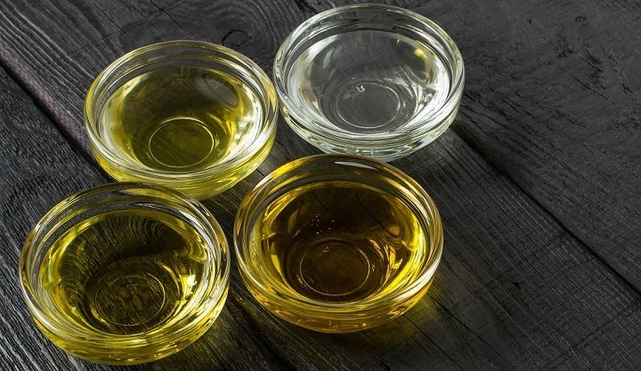 Oli portanti comuni trovati nell'olio da barba