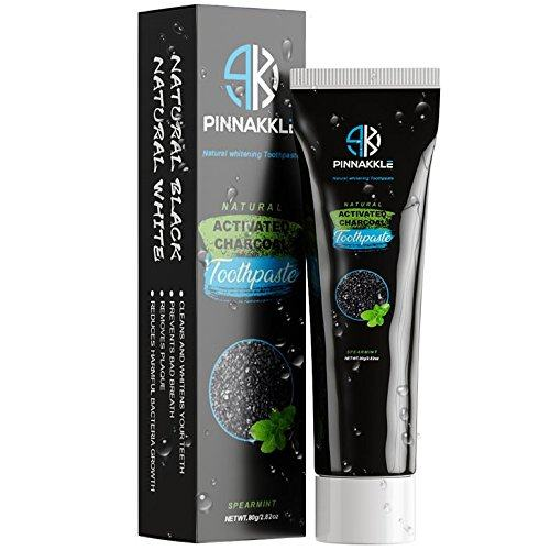 Pinnakkle Activated Charcoal Whitening Toothpaste