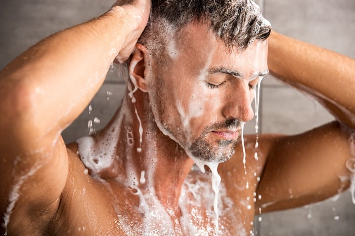 What Causes Dry Skin Under the Beard - Washing Beard Too Often
