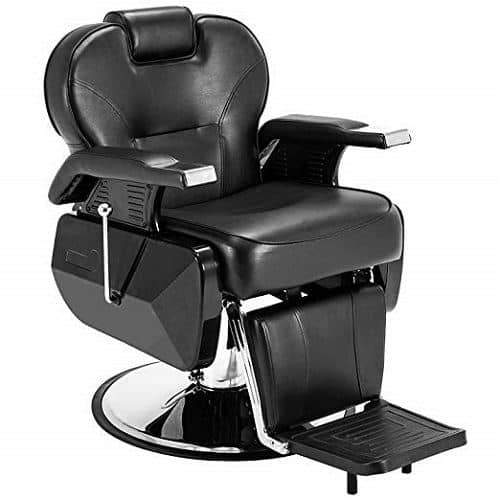 Artist Hand Black All Purpose Hydraulic Barber Chair