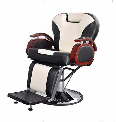 BarberPub Hydraulic Recline Barber Chair