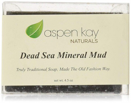 Dead Sea Mud Soap Bar 100% Organic