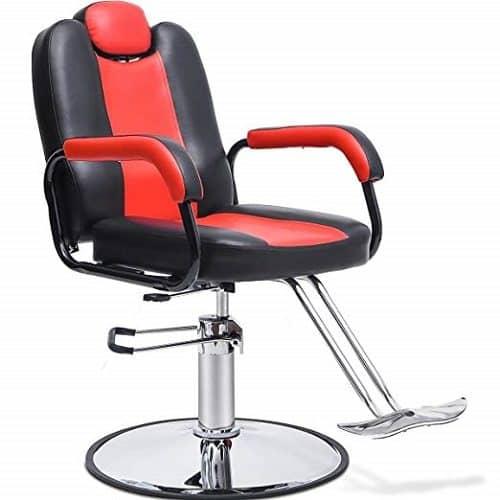 Merax Reclining Hydraulic Barber Chair
