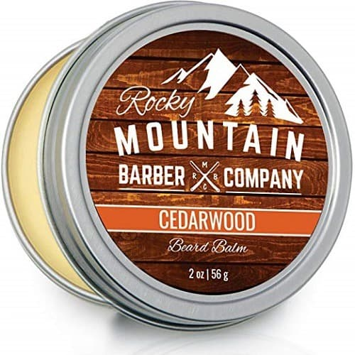 Rocky Mountain Barber Company Cedarwood Beard Balm