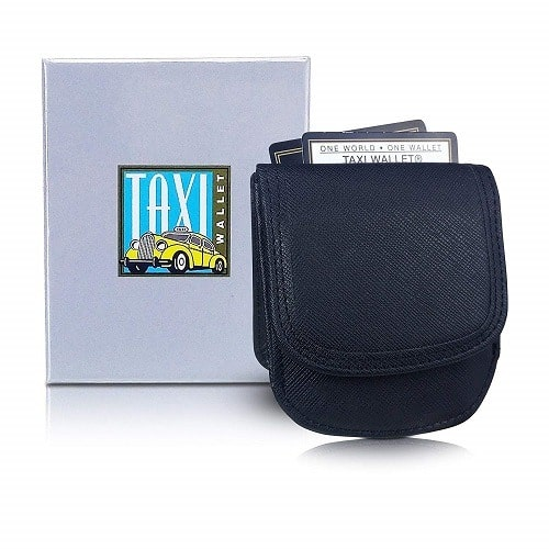 Small Vegan Folding Minimalist Taxi Wallet