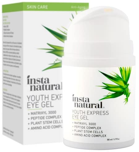 12. InstaNatural Youth Express Eye Gel