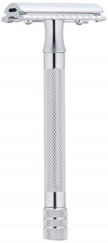 Merkur Long Handled Safety Razor