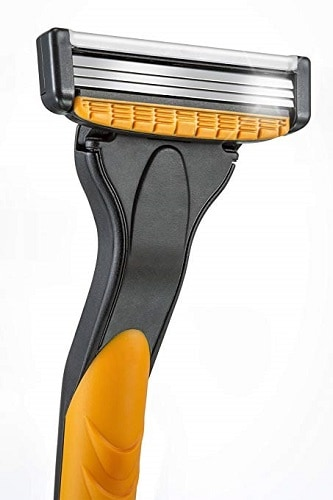 Micro Touch Triple-Blade Razor with Refill Cartridges