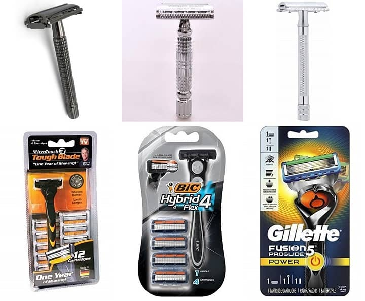 Safety Razors Vs Cartridge Razors
