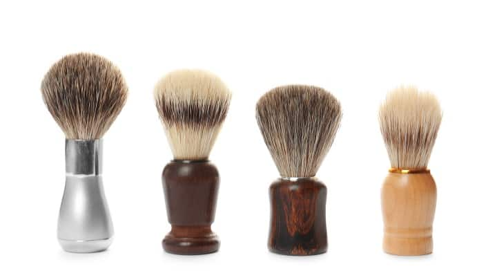 Types of Brushes Hair