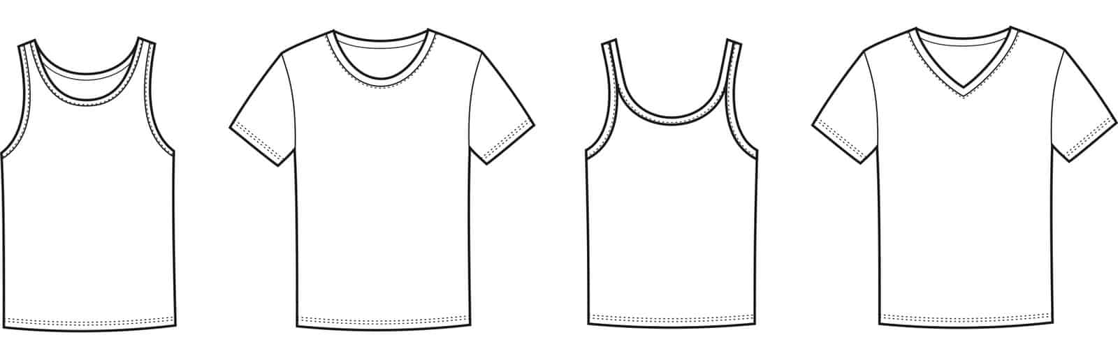 Types of Undershirts