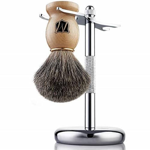 Miusco Brush and Shaving Stand Set