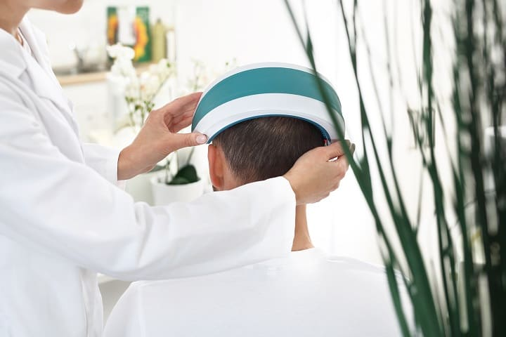 Treatment Time of Laser Comb