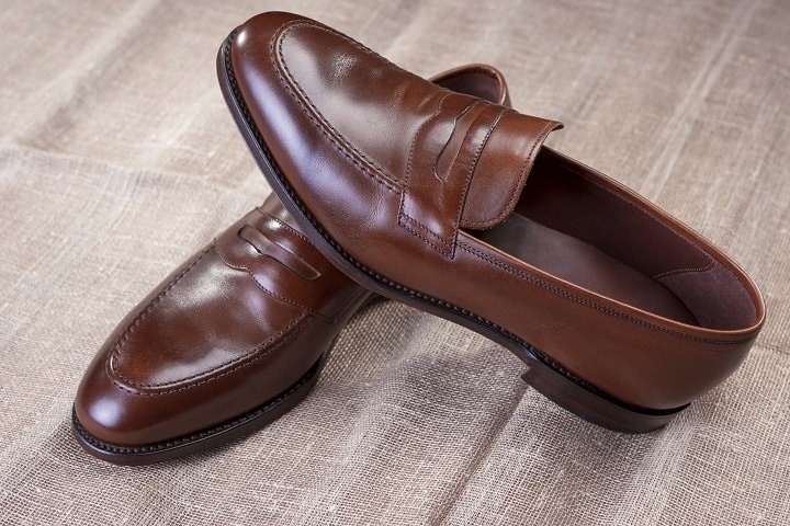 Types of loafers - penny loafers
