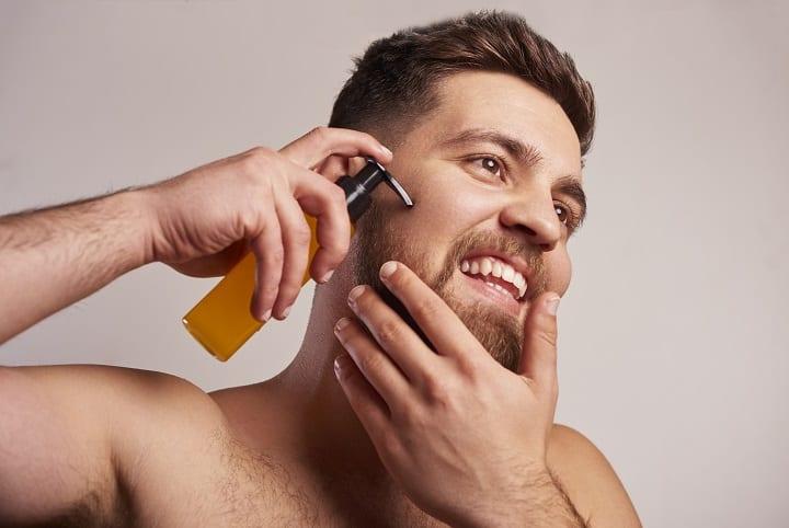 Pre Shave Oil Hydrates Skin