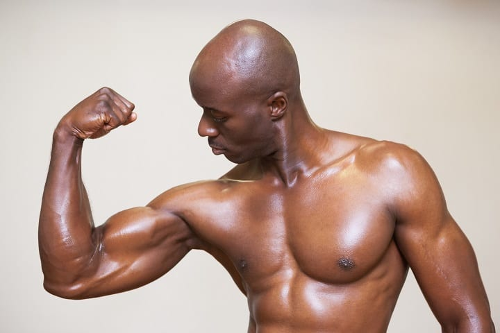 How to Look Good Bald - Build Some Muscle