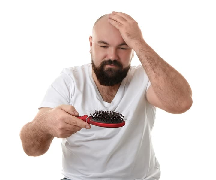 What Causes Hair Loss - Stress