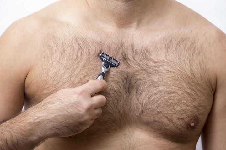 Methods for Shaving Your Chest