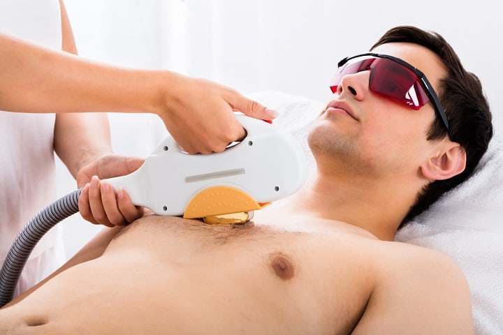 Methods of Chest Hair Removal - Laser Hair Removal