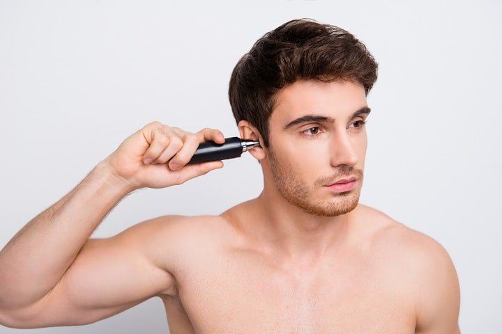 Methods of Ear Hair Removal -Trimming