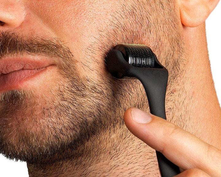 How Does a Beard Derma Roller Work